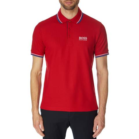 BOSS Red Paddy Pro Cotton Polo Top