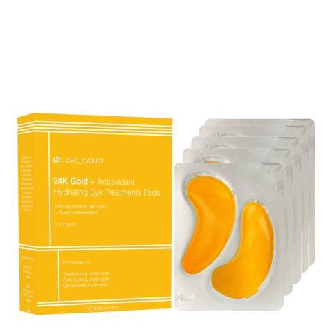 Dr Eve_Ryouth 24K Gold + Antioxidant Hydrating Eye Treatments Pads