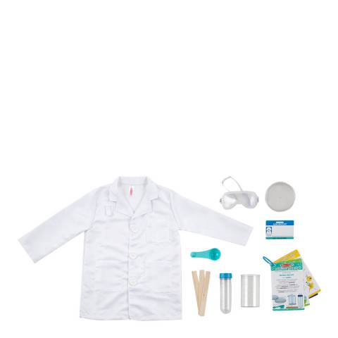 Melissa and Doug Scientist Role Play Costume Set