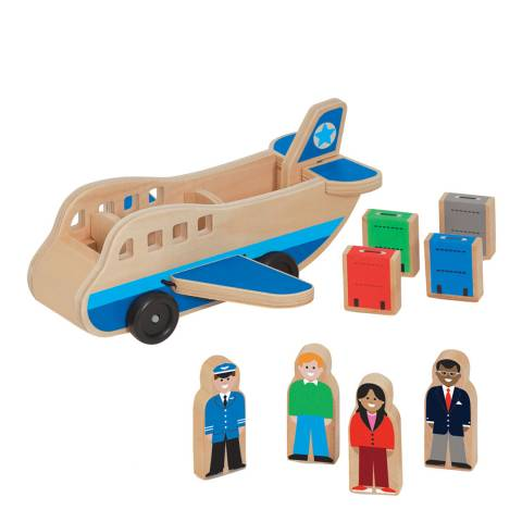 Melissa and Doug Wooden Airplane
