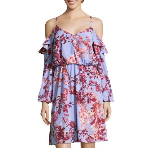 Adrianna Papell Multi Fit And Flare Dress