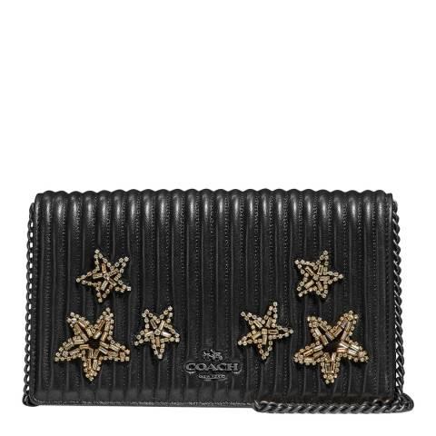 Coach Black Star Embellished Callie Bag