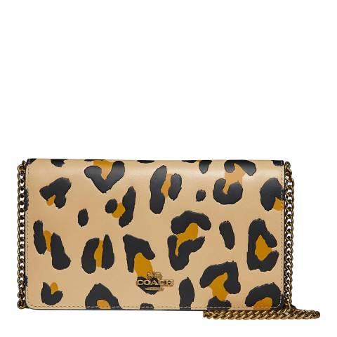 Coach Leopard Print Callie Bag