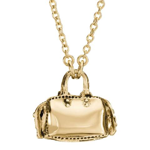 Coach 18k Gold Plated Rogue Necklace