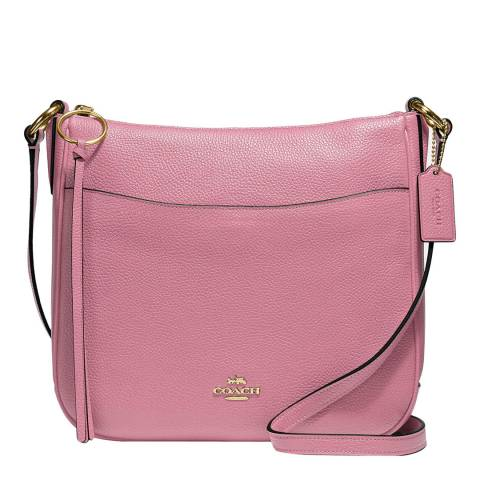 Coach Pink Chaise Crossbody Bag