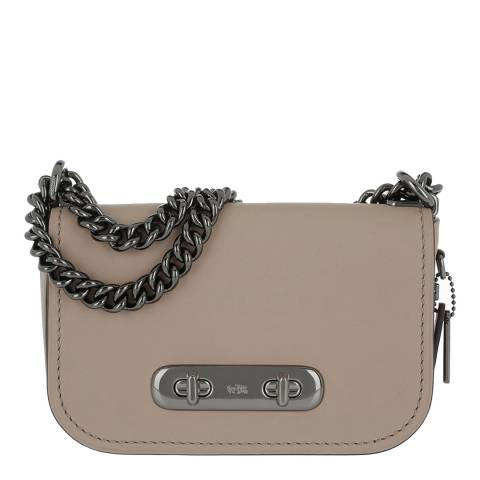 Coach Beige Swagger 20 Shoulder Bag