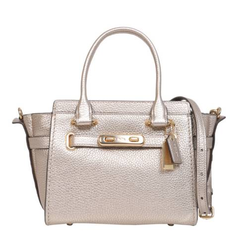 Coach Soft Gold Swagger 21 Bag
