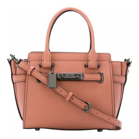 Coach Pink Swagger 21 Bag