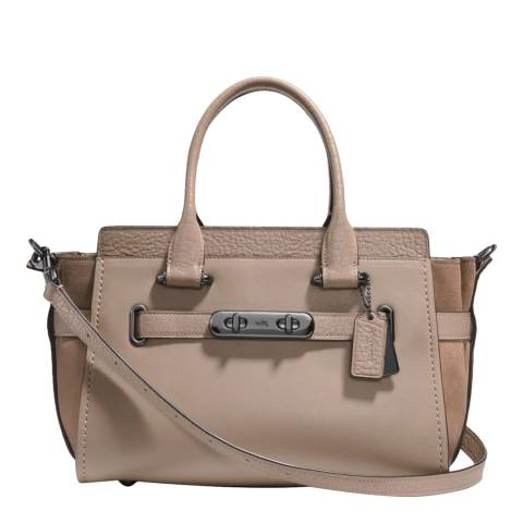 Coach Stone Suede Swagger 27 Bag