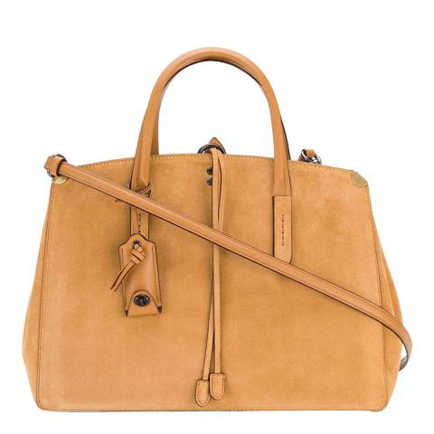 Coach Saddle Suede Cooper Carryall
