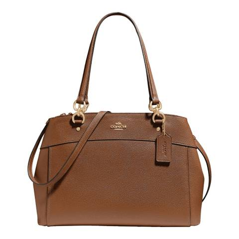 Coach Brown Large Brooke Carryall