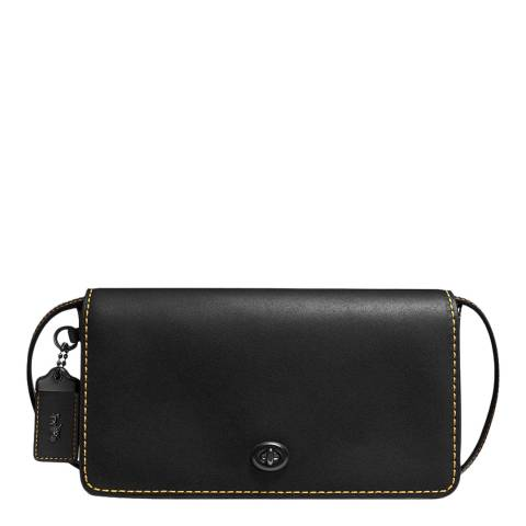 Coach Black Large Dinky Crossbody Bag