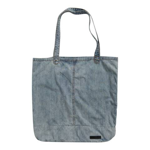 One Teaspoon Light Blue Rocky Beach Tote Bag