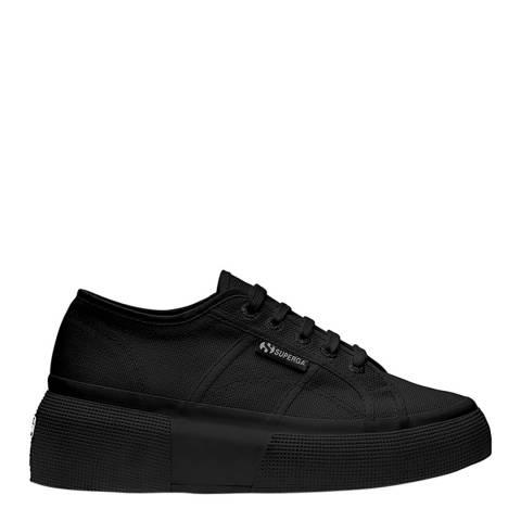 Superga Black 2287 Cotu Sneakers