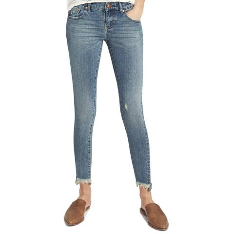 One Teaspoon NEWPORT FREEBIRDS II LOW WAIST SKINNY JEAN