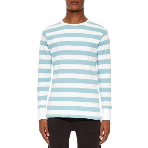 Kent & Curwen Light Blue Stripe Willis Top