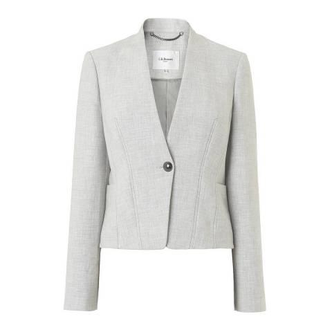 L K Bennett Grey Suit Lize Jacket