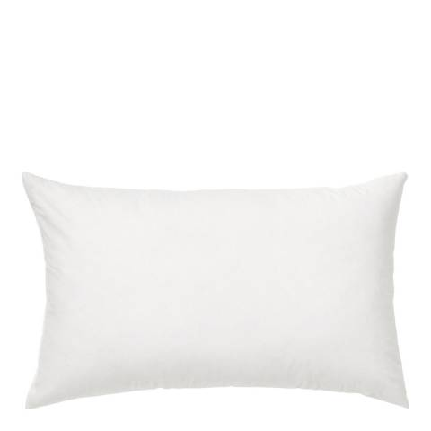 Febronie White Plain Cushion Filler 30x50cm