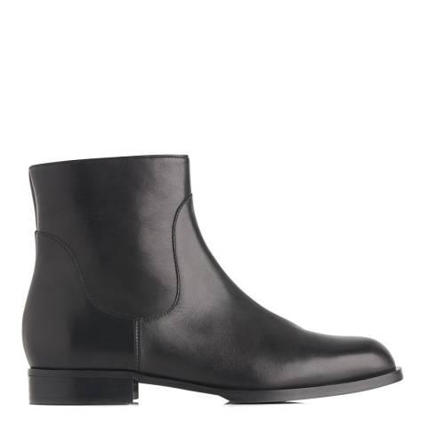 L K Bennett Black Leather Loti Chelsea Boots