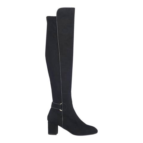 L K Bennett Black Amba Over the Knee Boot