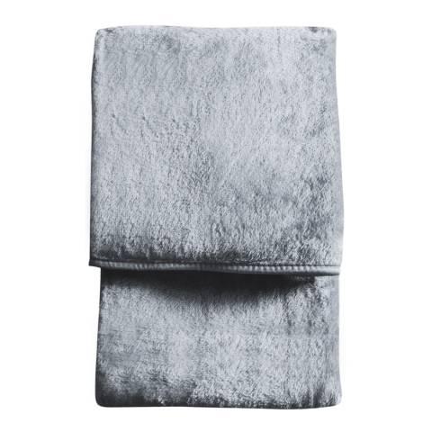 Gallery Silver Maximus Fleece Throw 150x210cm