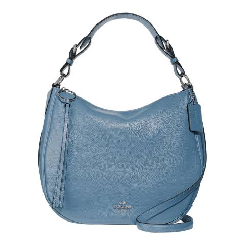 Coach Periwinkle Blue Leather Sutton Hobo
