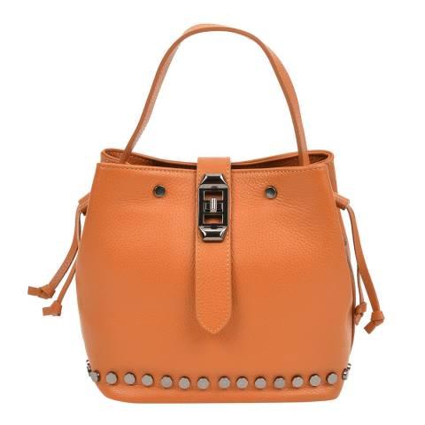 Mangotti Satsuma Studded Bucket Bag
