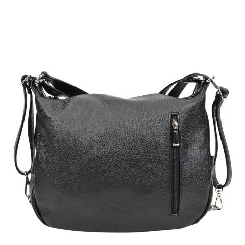 Mangotti Bags Black Multi Style Shoulder Bag