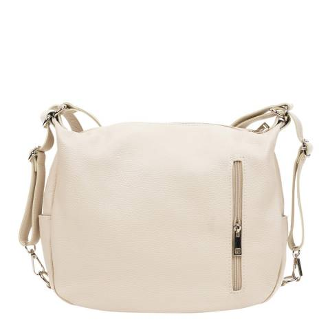 Mangotti Beige Multi Style Shoulder Bag