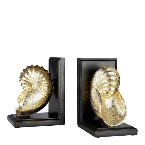 Fifty Five South Set of 2 Seashell Bookends