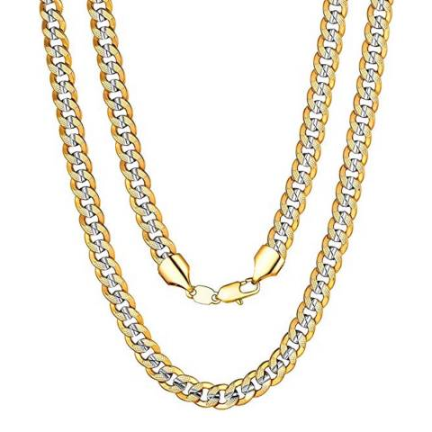 Stephen Oliver Gold/Silver Plated Chain Necklace