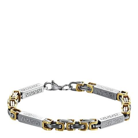 Stephen Oliver Silver/Gold Link Bracelet