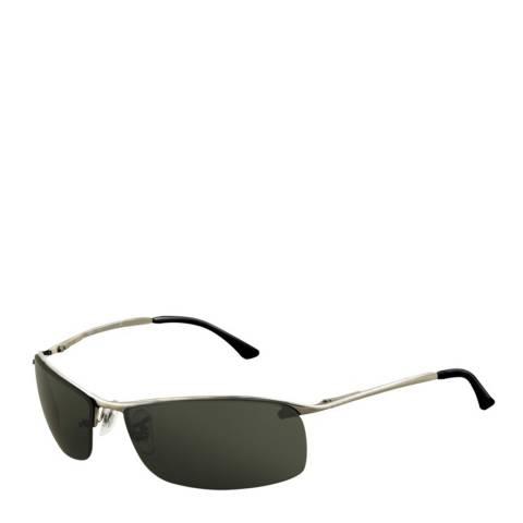 Ray-Ban Unisex Silver Top Bar Sunglasses 63mm
