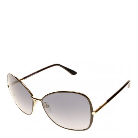 Tom Ford Women's Gold/Black Tom Ford Sunglasses 61mm