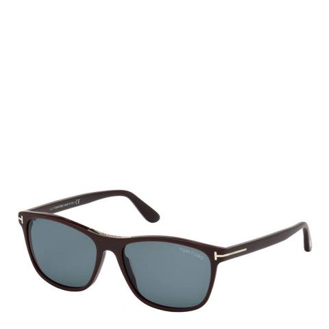 Tom Ford Men's Brown Sunglasses 56mm