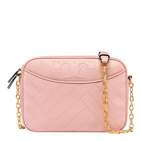 Tory Burch Dark Pink Alexa Camera Bag