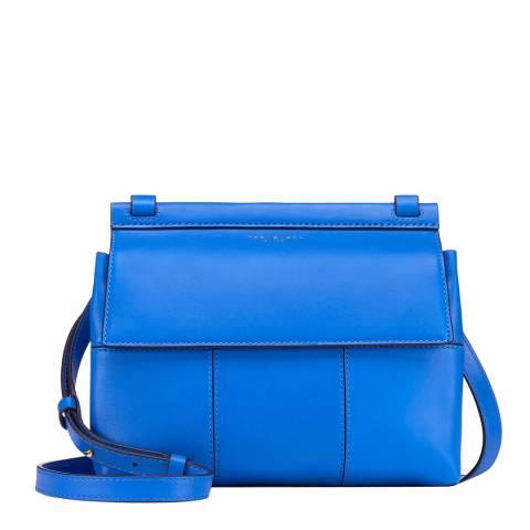 Tory Burch Blue/Navy Block-T Crossbody Bag
