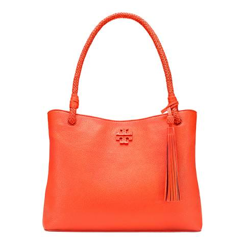 Tory Burch Tiger Lily Taylor Triple-Compartment Tote