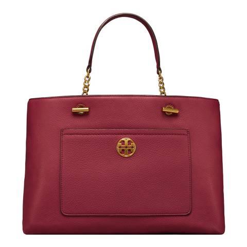 Tory Burch Red Chelsea Satchel Bag
