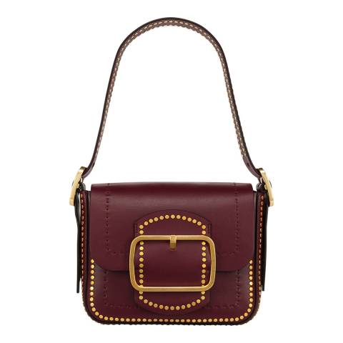 Tory Burch Port Sawyer Stud Small Shoulder Bag