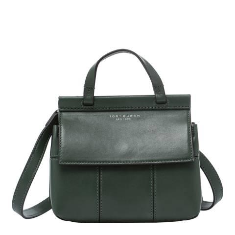 Tory Burch Selva Block-T Mini Satchel Crossbody Bag