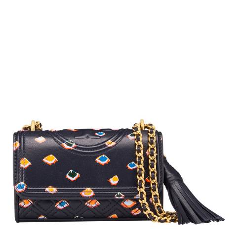 Tory Burch Mini Fiori Fleming Printed Micro Bag