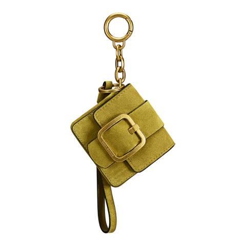 Tory Burch Deep Grass Sawyer Mini Bag Key Fob