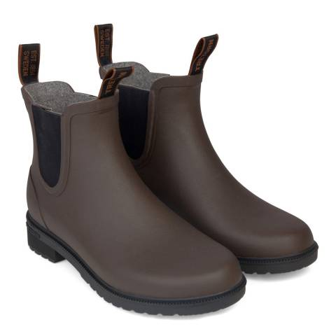 TRETORN Brown Chelsea Classic Wool Boot