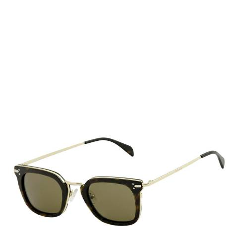 Celine Women's Brown Gold Sunglasses