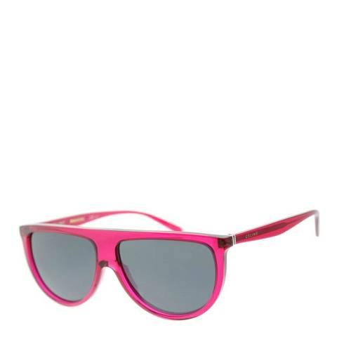 Celine Women's Transparent Fuchsia/Blue Sunglasses 61mm