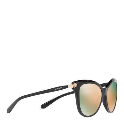 Bvlgari Women's Black Bvlgari Sunglasses 57mm