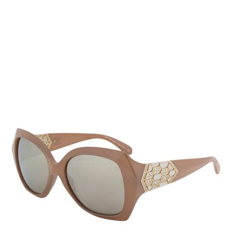 Bvlgari Women's Beige Bvlgari Sunglasses 55mm