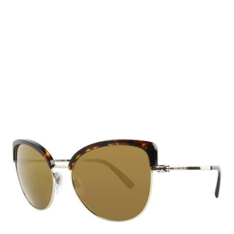 Bvlgari Women's Tortoise Bvlgari Sunglasses 58mm