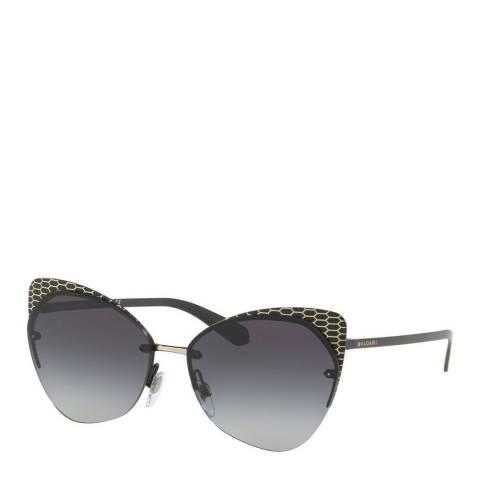 Bvlgari Women's Black Bvlgari Sunglasses 58mm